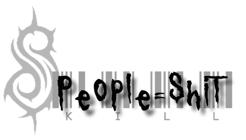 Slipknot: People = Shit