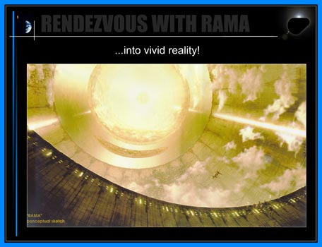 Rendezvous With Rama: ... into vivid reality